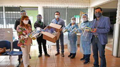 Photo of Acción  solidaria de funcionarios Daem con el consultorio Los Aromos