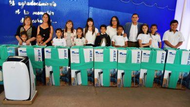 Photo of Escuela Balmaceda inauguró nuevos aire acondicionado