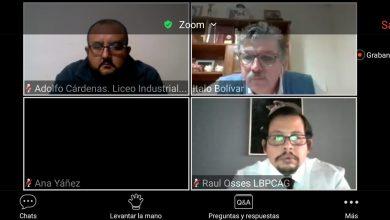 Photo of LICEO POLITÉCNICO  EXPONE EN FORO EXPERIENCIA EDUCATIVA ANTE LA CONTINGENCIA SANITARIA