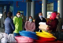 Photo of Alcalde y jefa DAEM supervisaron entrega de implementos para escuela Ernesto Castro